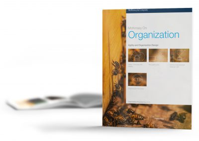 Agility and Organization Design | McKinsey